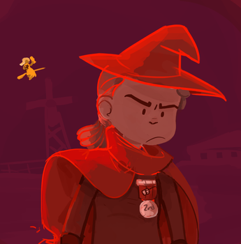 Red Witch by terminarch