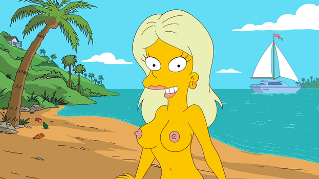 Simpsons Nude Girl by Niceblack