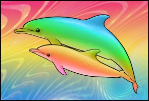 Dolphins by CultCreations