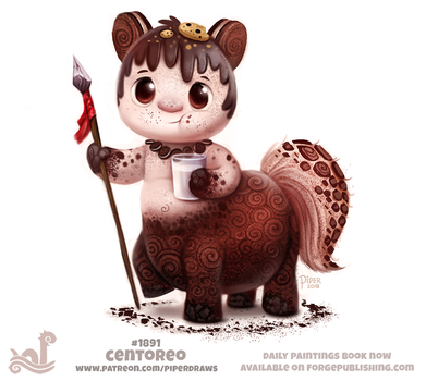 Daily Paint 1891# Centoreo by Cryptid-Creations