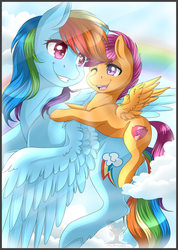 Be sisters [+ speedpaint] by Pillonchou