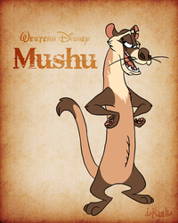 Western Disney - Mushu by daKisha