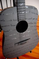 Lyrics Guitar 2 by DESIGNOOB