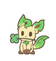 .:Lucky Leafeon:. by nynne61636