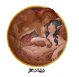 Comm - Amy X Allan by Amarna