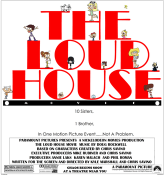 The Loud House Movie poster (Fanmade) by MahBoi-DINNER