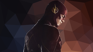 LOW POLY | Flash [Grant Gustin] by MasonARTS