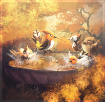 Autumn Baths by Amura-Of-Jupiter