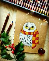 Little Hedwig by Lavenderwitch