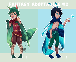 Fantasy Adoptables #2 [OPEN] by OtterTheAuthor