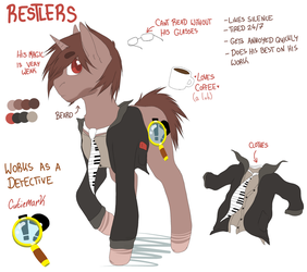 Ref Sheet: Restlers by DollPone