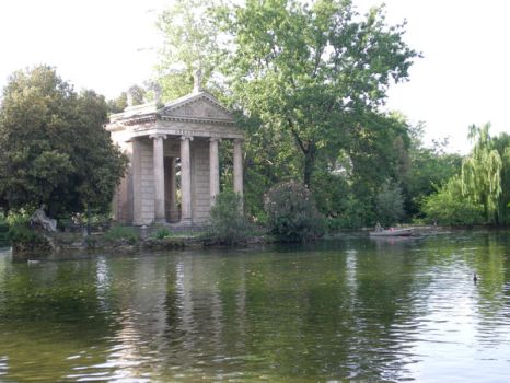 Roma Temple on the Lake by rednotes