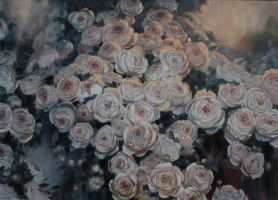 The roses for the saints by Vladimir-Kireev