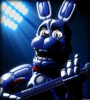 C4d | Strings in your neck [Funtime Bonnie] by Smiley-Facade