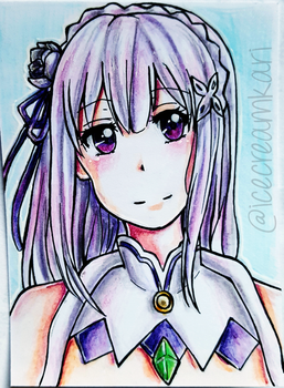 Emilia by IceCreamKari
