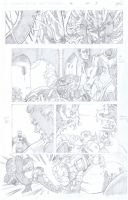 Fantastic Four Page 5 by aminamat