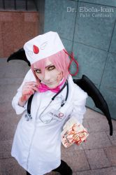 DR. EBOLA Virus cosplay by palecardinal