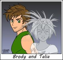 Brody and Talia (Brody's Ghost) by sthaque