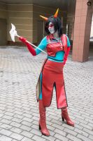 Homestuck Neophyte Redglare Cosplay by Sioxanne
