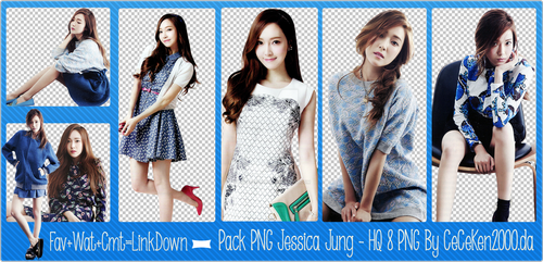 PACK PNG #28: Jessica (SNSD) by CeCeKen2000
