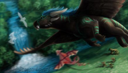 Dragon Lands by Lailie-Dragon-Lovard