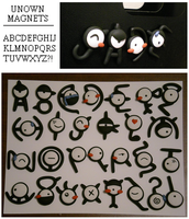 Unown Magnets