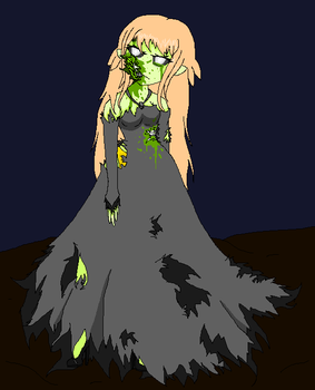 Comp entry:Zombie Sunflower by starflash111
