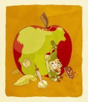Hero's Snack Time by boum