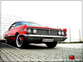 car R by tiffgraphic