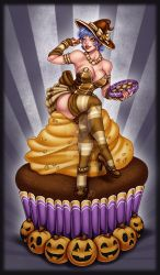 Chocolate witch by Harpyqueen