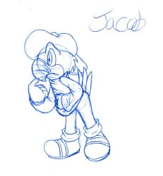 Jacob .:Full SKetch:. by SonicHearts