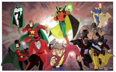 JSA commisson in color by POPSTATA