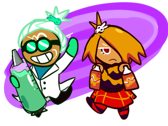 Wasabi and Mustard by Uxie126