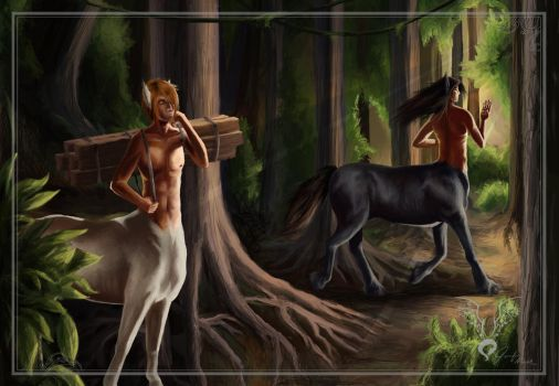 +Map of the Centaurs+ by LainDragon