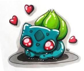 Bulbasaur by Himeija
