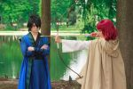Hak Watching Yona Shoot an Arrow Cosplay by firecloak