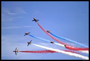 Red Arrows Display 7 by SCM