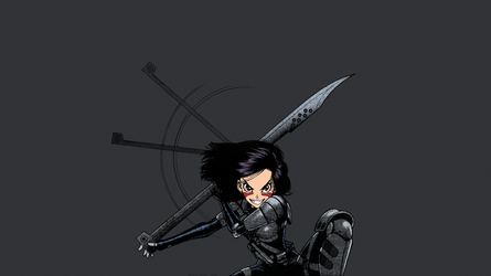 Gunnm - Battle Angel Alita by Yukito Kishiro by theBakamono