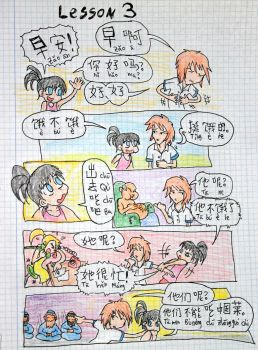Let's go to Eat - notebook comic by HeaVen Xus by HeaVenXus