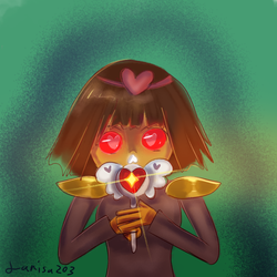 wandtale frisk by larisa203