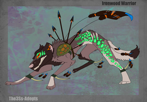 Ironwood Warrior Auction -- CLOSED by The3Ss-Adopts
