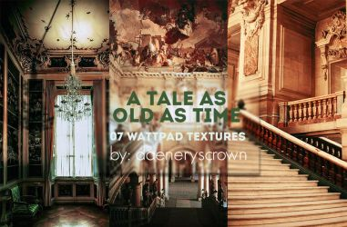 Texture Pack #04 - A Tale As Old As Time by daeneryscrown