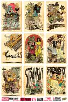 A2 Stranski Prints - 15 pounds each, FREE DELIVERY by STUDIOBLINKTWICE