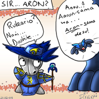 Sir... Aron? by PipeDreamNo20