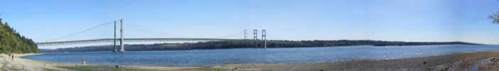 Panoramic view from Narrows Park by zypherion