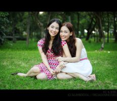 Twins: KC and Bebs 3 by slumberdoll