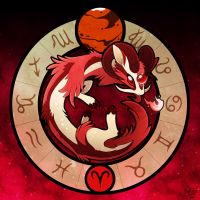 Zodiac Dragons: Aries by FennecSilvestre