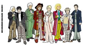 Eight  Doctors by Inspector97