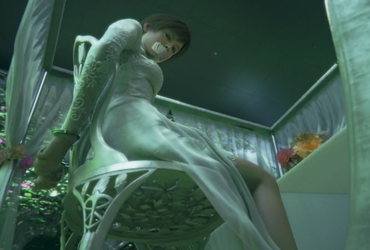 Resident Evil: Vendetta: Rebecca bound and gagged by benja100