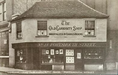 London - The Old Curiosity Shop by Yesterdays-Paper